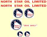 M07  MINNITOYS North Star DECAL SET